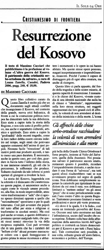 Recensione Massimo Cacciari